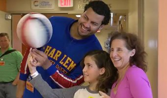Harlem Globetrotters - Cottage Children's Medical Center